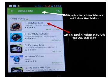 Hướng dẫn cài đặt và xem camera Dahua trên Smartphone (Android) bằng
